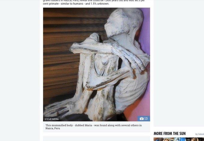 ナスカの「純白・長頭・3本指ミイラ」は新種の人類だった!? DNAの1.5%に異変… 研究者「21世紀の最重要発見」の画像1