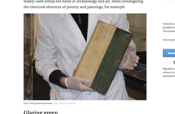 読むと「死ぬ本」が存在していた ― 恐るべき有害性と美しすぎる表紙に込められた謎とは!?=デンマークの画像1