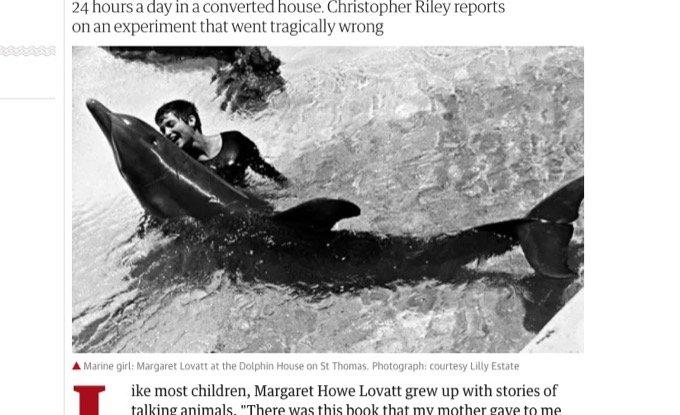 NASA出資の実験中に「イルカとのセックス」に溺れた女研究者「こすりつけがエスカレートして…」の画像1