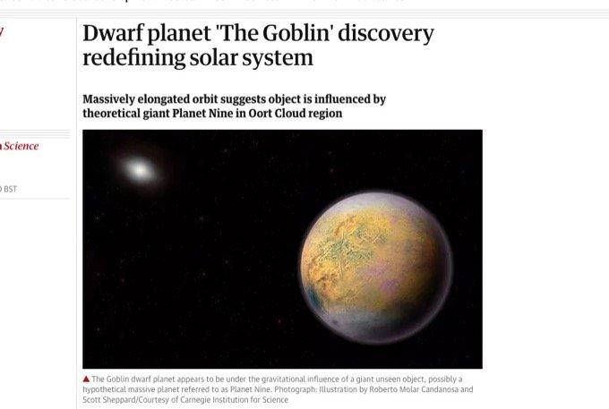 ついに惑星X「ニビル」存在の証拠発見! 太陽系の端に新天体ゴブリン存在で、研究者が重大発言!の画像1