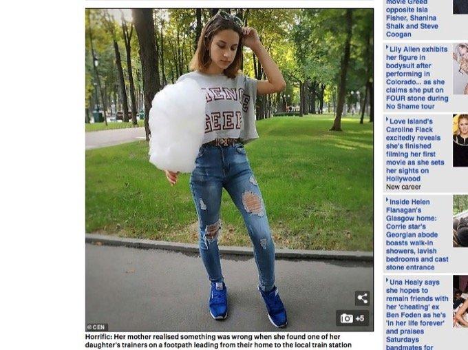 ウクライナで15歳の少女が惨殺される。悪魔儀式の生贄に?の画像2