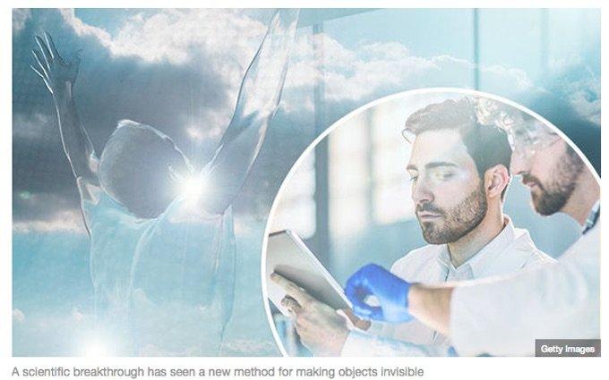 物体を完全に透明にする技術がガチ実用化へ! レーダーにも映らない最先端技術「メタマテリアル」がスゴい!の画像1