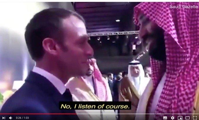 仏マクロンがサウジ皇太子に激おこで詰め寄る衝撃映像が流出!「おまえさ、オレの話を聞いてねえじゃんかよ」の画像2
