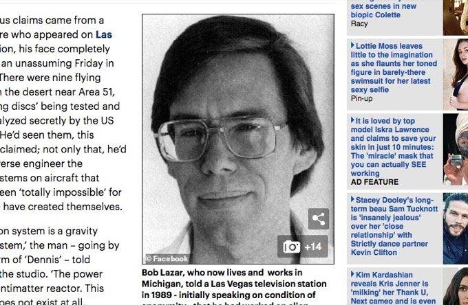 エリア51元職員ボブ・ラザーが「UFOの陰謀」を引っ提げて30年ぶりに帰って来た! 「現在も政府の監視が…」爆裂インタビュー!の画像1