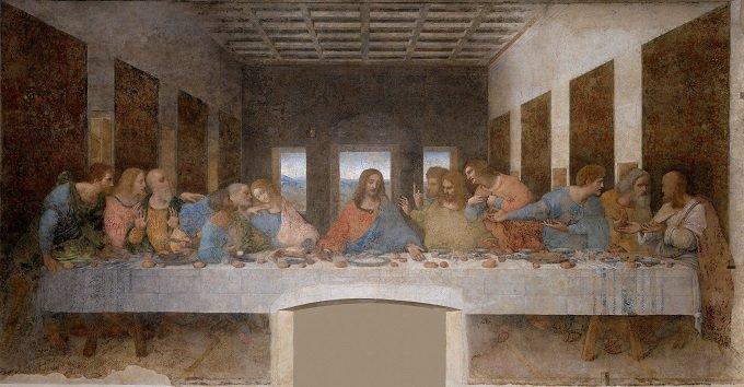 ダ・ヴィンチ「最後の晩餐」に終末予言コードが描かれていたことが発覚! ●年●月●日に大洪水で人類滅亡か!?の画像1