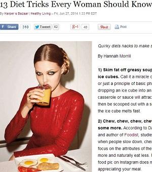 超・楽で簡単なダイエット法13! 科学的根拠満載、皿の色を変えるだけで…?の画像1