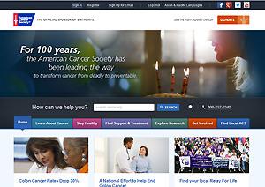 アメリカ癌協会HP