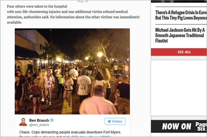ゾンビ祭中に銃撃事件 死亡した男性に対し「ゾンビなんだから無罪でいいだろ」の画像1