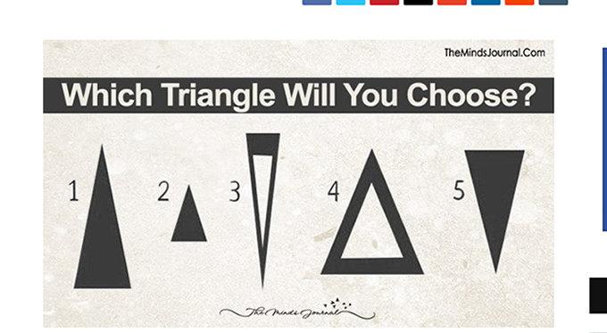 【心理テスト】選んだ三角形でわかる「本当の性格診断」がマジで当たる! 偉業を成し遂げるタイプは…!?の画像1