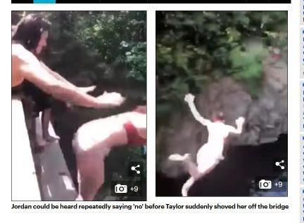 【閲覧注意】背中を押された美少女16歳が18m落下して川にドボン! 折れた肋骨2本が肺に突き刺さり… ふざけすぎた夏の代償=米の画像1