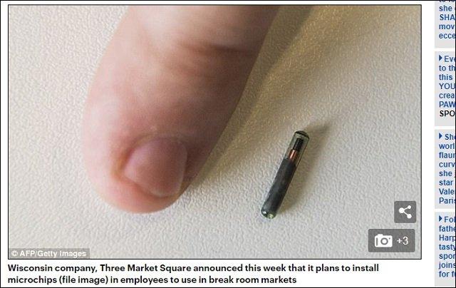 【恐怖】米企業が従業員にマイクロチップを埋め込み管理すると発表! 遂に遠隔殺人・人類総奴隷化社会の到来か?の画像1