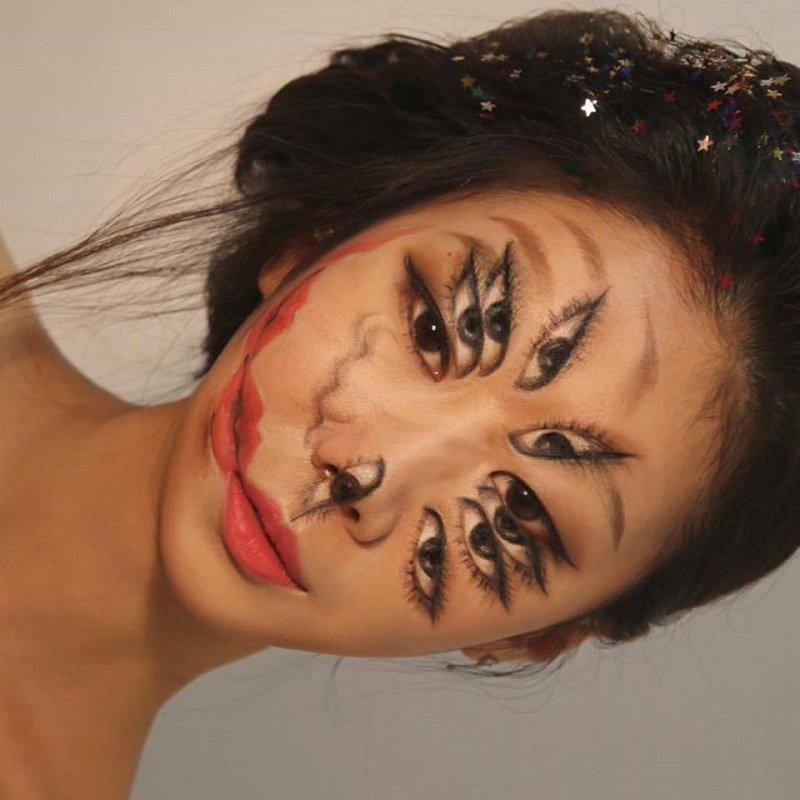 世界大注目の「トリックメーク」が脳が歪むレベル!! 自分の身体をキャンバスにする韓国の美人アーティストが妖艶すぎる!の画像1