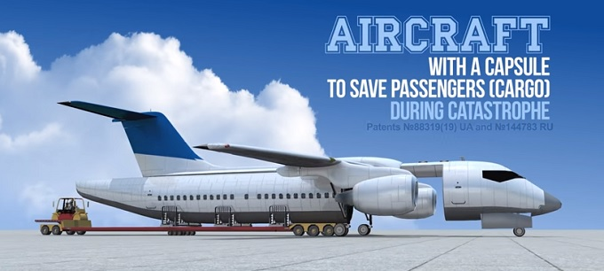 「墜落事故で乗客が死なない旅客機」が画期的すぎる! 客室部分を丸ごと放出?の画像4