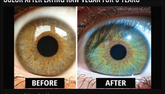 瞳の色は誰でも変えられる! 黒...
