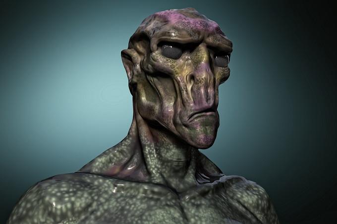 世界初、アブダクションの最中に撮られた写真か? ヒューマノイド型宇宙人の顔まで写り込む?の画像1