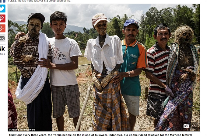 【閲覧注意】死体が蘇るトラジャ族の祭り「マネネ」! インドネシア秘境の奇祭がヤバすぎる!!の画像1