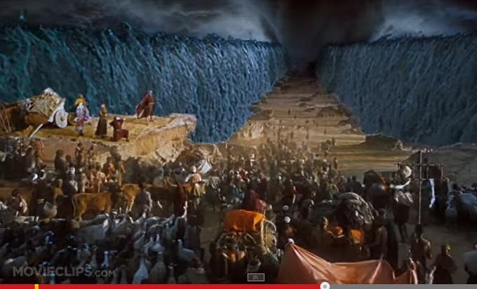 モーゼは本当に海を割った? フィクションではなかった、「モーゼの奇跡」!!の画像1