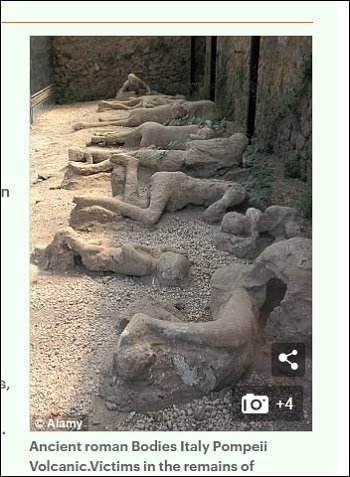ポンペイ遺跡の抱き合う2人の乙女、実はゲイカップルだった!! 性に奔放な古代都市の真実が発覚!の画像1