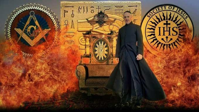 フランシスコ麻生太郎はイエズス会(イルミナティ)メンバーだった!「正式礼拝で安倍晋三に呪詛かけた可能性」政府関係者が衝撃暴露の画像3