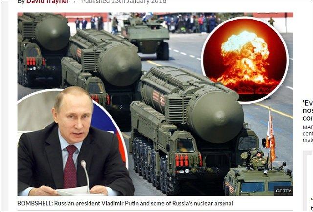ロシアが第三次世界大戦を起こしそうな4つの重大理由! スーパー核ミサイル、史上最大4,000万人の防災訓練…の画像1