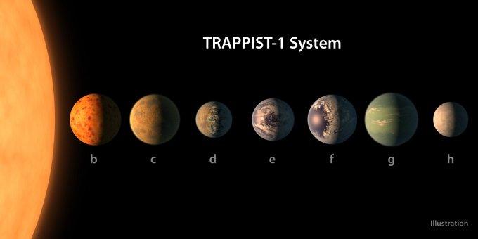 NASAによるトラピスト1宇宙人の衝撃予想イメージを世界初公開! 世界的宇宙物理学者が徹底解説の画像1