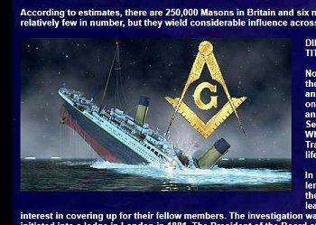 【新説】タイタニック号沈没の背後にフリーメイソンの暗躍か!? 関係者にメイソン会員がズラリ…すべては仕組まれた事故だった!?の画像2