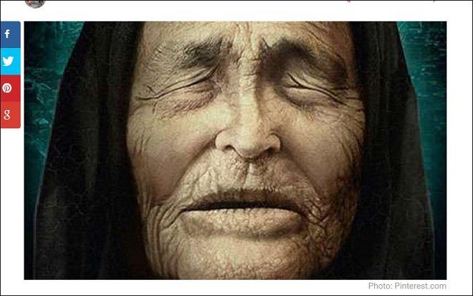 史上最高の予言者ババ・ヴァンガの62の予言(5079年まで)を一挙大公開!! イルミナティの計画とも戦慄の一致!【永久保存版】の画像1
