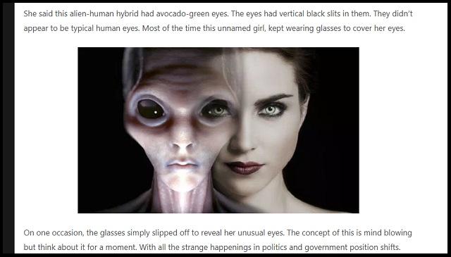 地球侵略中の「宇宙人と人間のハイブリッド3種類」をUFO界重鎮が暴露! 見分け方も判明、眼球に黒い縦線…!の画像2