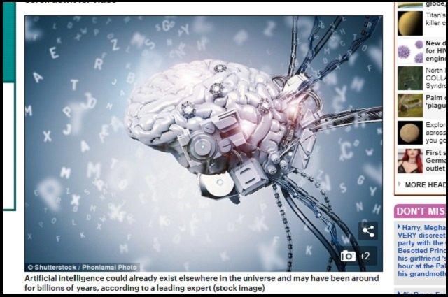【ガチ】「宇宙人は肉体を超越し、既にAIと融合している」米教授断言! 人類もポスト生物の時代に突入へ、肉体はシリコン素材で不死身に!の画像1