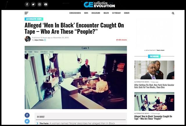 衝撃の「リアルMIB映像」がついに流出!! 黒スーツの白人が会社訪問、受付で異常行動…宇宙人調査か!?の画像1