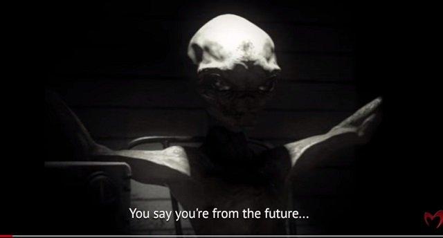 米軍が宇宙人を拷問、自白させる映像が流出! 磔にされたエイリアンが語ったこの世の仕組みとは?の画像2