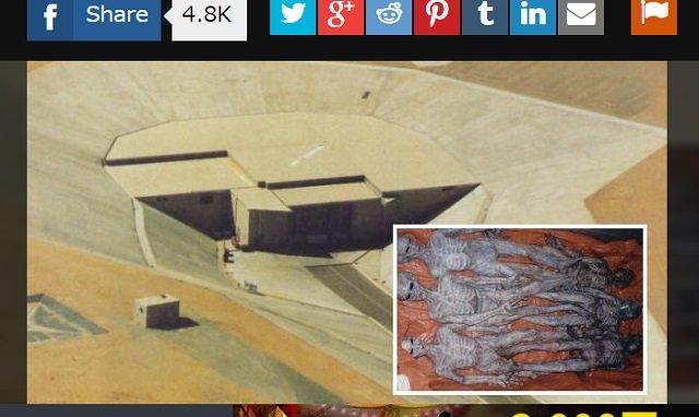 「宇宙人の死体安置所を見た」元米空軍職員が決死の暴露! ライト・パターソン空軍基地に隠された極秘地下施設の謎の画像2