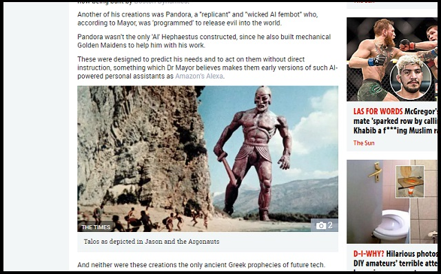 「AI、アレクサ、自動運転は古代ギリシアが起源」スタンフォード大教授がマジ主張! 当たりまくる古代未来予測に戦慄!の画像1