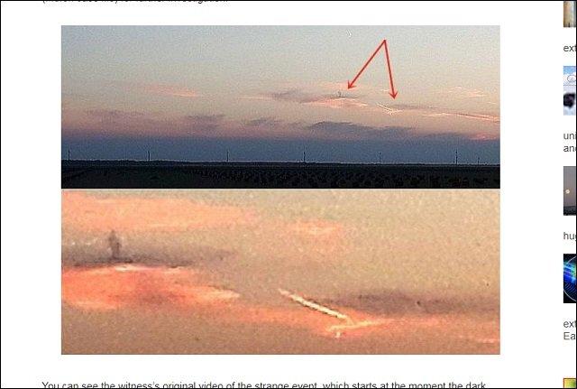 【衝撃画像】雲の上に黒い天使が出現、姿を変えて謎の物体を発射!やはり雲の上には何か が棲んでいる!=カナダの画像4