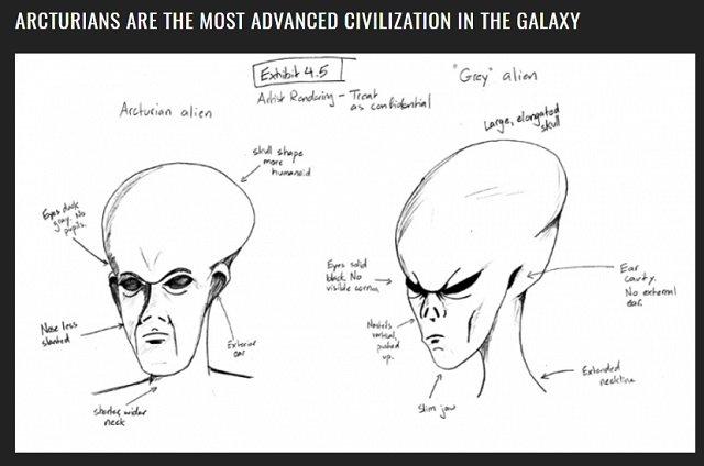【衝撃】宇宙最高文明を持つ巨大宇宙人「アクトゥリアン」の存在が33光年先で確認される! グレイもビビる5次元エイリアンの正体とは? の画像2