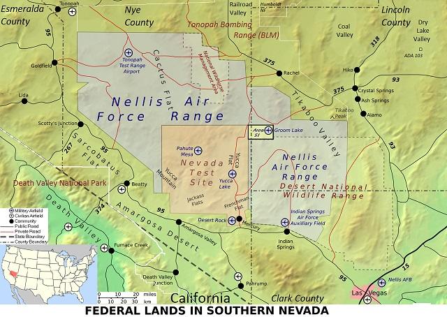 【速報】今月エリア51に米軍用機が集結、大規模演習が行われていた! 対UFOエイリアン戦想定か… ガチで何かが進行中!の画像3