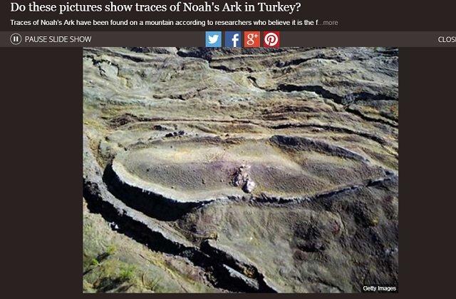 【ガチ】旧約聖書「ノアの方舟」の実物をついに発見か! 米大学教授が国際シンポで発表「トルコ山中に痕跡」、やはり神話ではなかった!の画像3