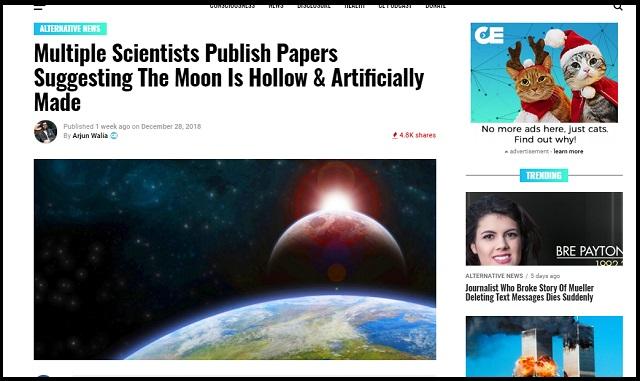 「月は人工物である」複数の研究論文がガチ指摘! 月には未知の知的メカニズムが働いていた!の画像1