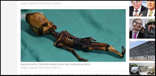 「宇宙人のミイラ」アタカマエイリアンのDND鑑定に反倫理的と専門家! まさかの正体も判明か!? の画像2