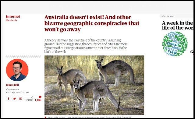 オーストラリアは実在しない幻国だった!? 「人も国もCGで作られた偽物、すべて英国の陰謀」ネット上で大議論に発展!の画像1