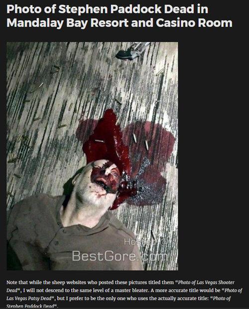 【閲覧注意・ラスベガス銃乱射】事件直後のヤバすぎるノーカット映像&犯人の自殺画像が流出! 無数の遺体と血の海、瀕死の被害者…!の画像1