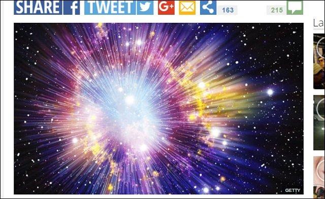 【ホーキング惨敗】宇宙誕生は物理的に説明不可能だったことが判明! やはり「端的な無」から「創造主」によって発生した!の画像1