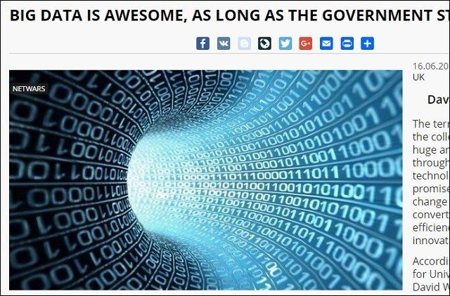 【ガチ】政府によるビッグデータ利用が招く2つの恐ろしい未来とは? 経済学者が指摘、社会は闇に堕ちる!の画像2