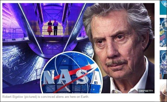 【衝撃】NASAを金で動かす超大物経営者ロバート・ビゲローが暴露! 「宇宙人は地球にいる」「政府がUFO情報を隠蔽してる」の画像1