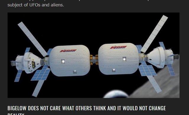 【衝撃】NASAを金で動かす超大物経営者ロバート・ビゲローが暴露! 「宇宙人は地球にいる」「政府がUFO情報を隠蔽してる」の画像2