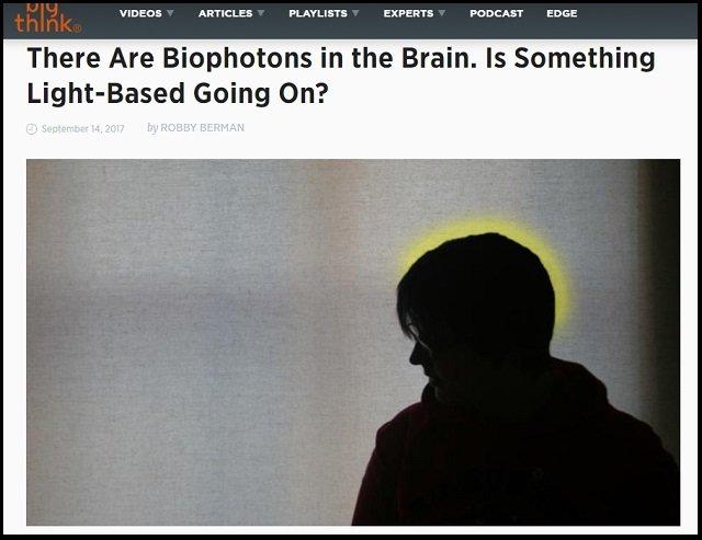 【ガチ】我々の脳は直接見えない光とつながっていた! 科学者「脳内で毎秒10億個の謎の光が発生」オーラやクンダリニーの覚醒に関係か!の画像1