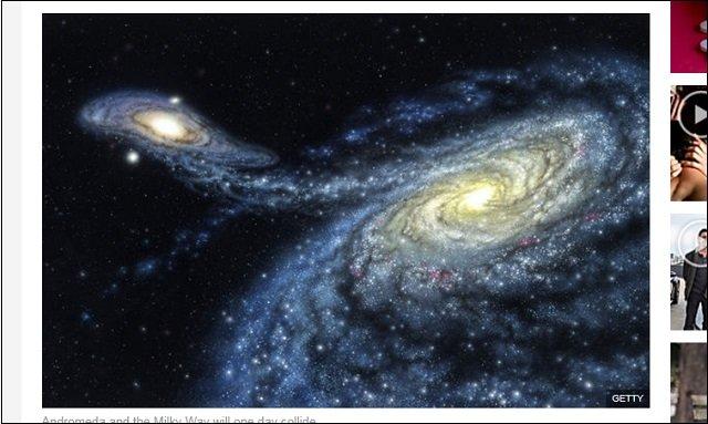 【警告】アンドロメダの「超巨大ブラックホール」が時速40万kmで地球に接近中! 太陽の400万倍の質量に呑み込まれ地球滅亡へ!の画像2