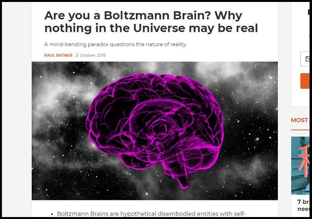 宇宙の歴史は全部嘘、「ボルツマン脳」が作り出した虚構!ビッグバンも完全妄想、宇宙の起源は●●だった!の画像1