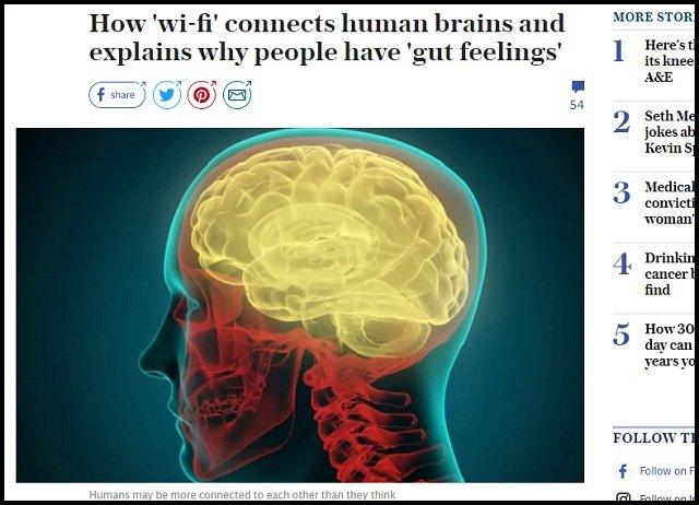 【ガチ】我々の脳はwi-fi機能でテレパシーを送受信していた! 第6感を認めた英大学の「インターブレイン研究」がマジ!の画像3
