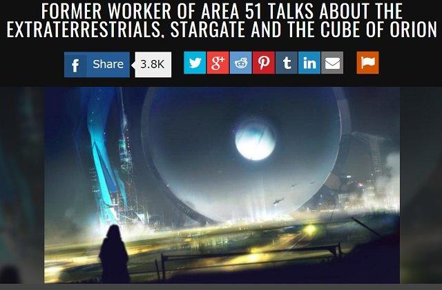 【衝撃】元エリア51職員が地球外生命体、スターゲイト、未来を見通すオリオンキューブの謎を暴露! 謎の宇宙人「Jロッド」の真実も! の画像1